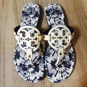 {Tory Burch} Tie-Dye Miller Sandals